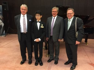 Darryl at 3rd Steinway Malaysia Youth Piano Competition pic