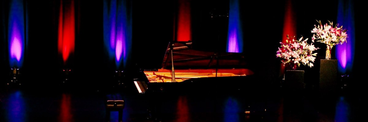 Piano on Stage at the Award